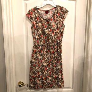 Dresses & Skirts - Never been worn! Summer dress - pink and tan!